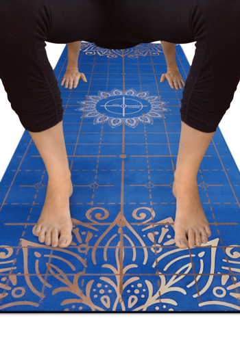 Aligned Yoga Table Pose Zoomed