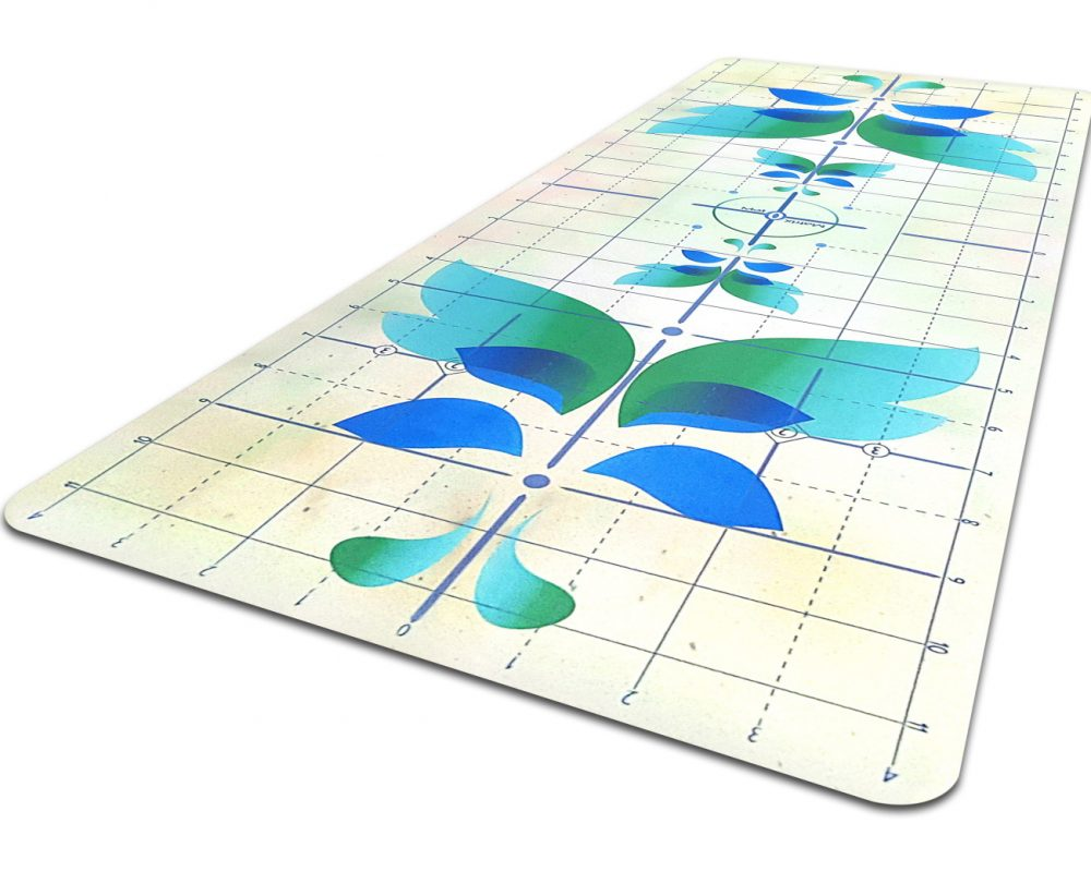 Matrix Butterfly Yoga Alignment Mat_iso crop2