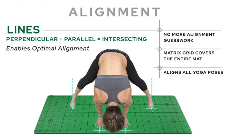 Matrix Mat Yoga Alignment Instruction 1000